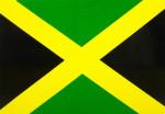 Autocollant Drapeau Jamaïque