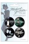 Badges Pack Michael Jackson Bleu