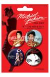 Badges Pack Michael Jackson Rouge
