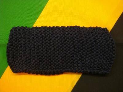 Bandeau Noir Uni