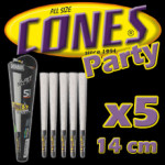 Cônes Party 14cm par 5