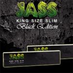 Feuilles à rouler Jass King Size Slim Black Edition