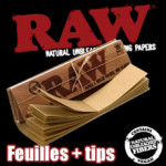 Feuilles à rouler RAW + Tips