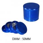 Grinder Polinator 50mm Bleu