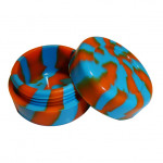 Jarre Silicone Bleue/Orange