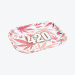 Plateau 420 Leaf Rose (Petit Format)