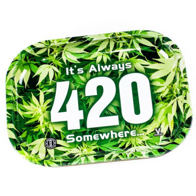 Plateau It's Always 420 Somewhere (Petit Format)