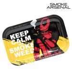 Plateau Keep Calm and Smoke Weed (Format Moyen)