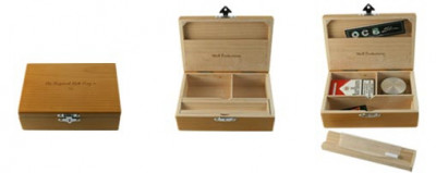 Spliff Box Wolf Production Deluxe Taille M
