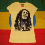Bob Marley Blur Image Femme