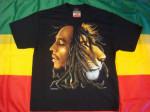 T-shirt Bob Marley Lion Dreads