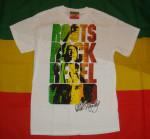 Bob Marley Brick Wall Blanc