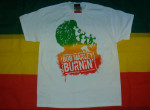 Bob Marley Burnin Blanc