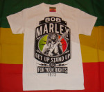 Bob Marley For Your Rights 1973 Blanc