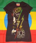 T-shirt Femme Bob Marley Lightning
