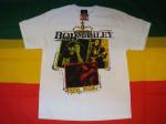 Bob Marley Rebel Music Blanc
