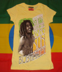 T-shirt Femme Bob Marley Rising Sun
