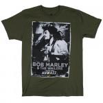 T-shirt Bob Marley Hawaïï