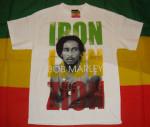 Bob Marley Zion Rasta Blanc