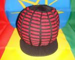 Bonnet Noir/Rouge Taille S/M