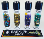 Briquet Clipper Owls X 4