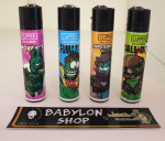 Briquet Clipper Players Weed X 4