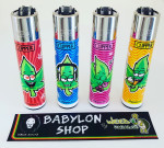 Briquet Clipper Weedman X 4