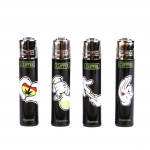 Briquet Clipper Cartoon Hands X 4