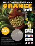 CBD Résine 22% Full Spectre Orange Bud