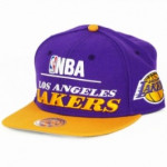 Casquette Mitchell & Ness NBA Los Angeles Lakers