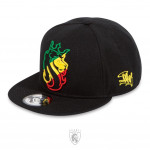 Casquette Snapback Lion Rasta Striped