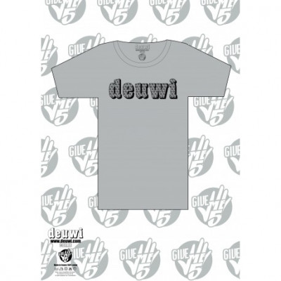 T-shirt deuwi - Give Me 5 - Gris