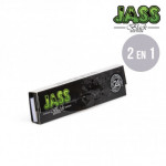 Feuilles à rouler Jass King Size Slim Black Edition + Tips