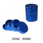 Grinder Polinator 40mm Bleu