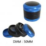 Grinder Polinator Bleu / Noir 50mm
