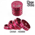 Grinder Polinator Dope Bros Amsterdam Moulin Rouge 40mm