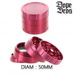 Grinder Polinator Dope Bros Amsterdam Rouge 50mm
