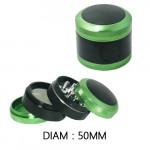 Grinder Polinator Vert / Noir 50mm