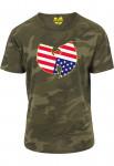 T-shirt Wu-Tang Clan Camouflage US
