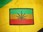 Patch Cannabis Flag