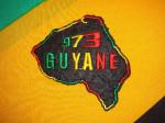 Patch Brodé Guyane 973
