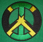Patch Brodé Jamaïcan Peace & Love