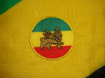 Patch Brodé Lion Rasta