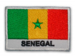 Patch Brodé Sénégal