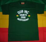 T-shirt Dub Inc Sainté Vert (Déstockage)