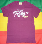 T-shirt Naâman Rays of Resistance Grenat