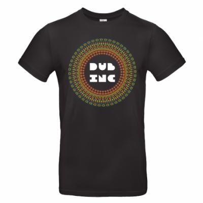 T-shirt Dub Inc Mandala Noir