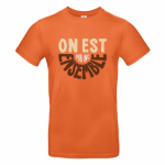 T-shirt Dub Inc On Est Ensemble Orange