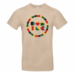 T-shirt Dub Inc Rond Rasta Sable