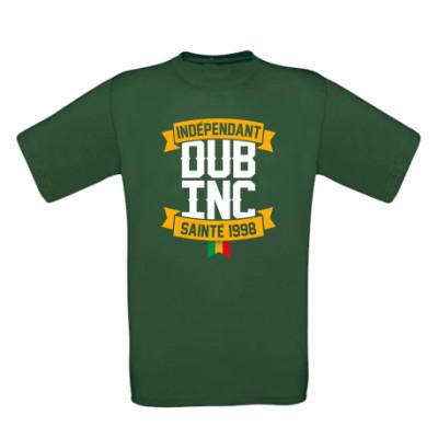 T-shirt Dub Inc Indépendant Sainté 1998 Vert